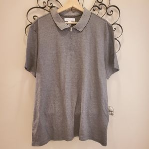 Nwot silk blend Nordstrom signature polo